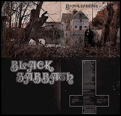 Encarte do disco Black Sabbath