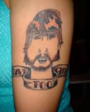 Tatuagem do Dave Grohl