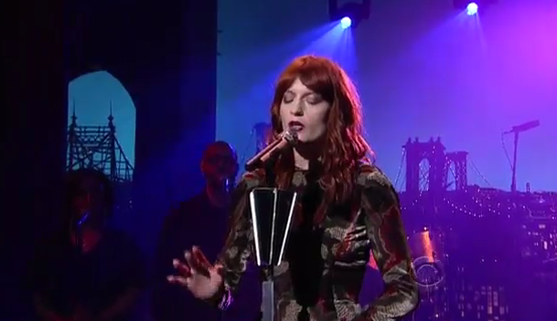 Florence And The Machine no David Letterman