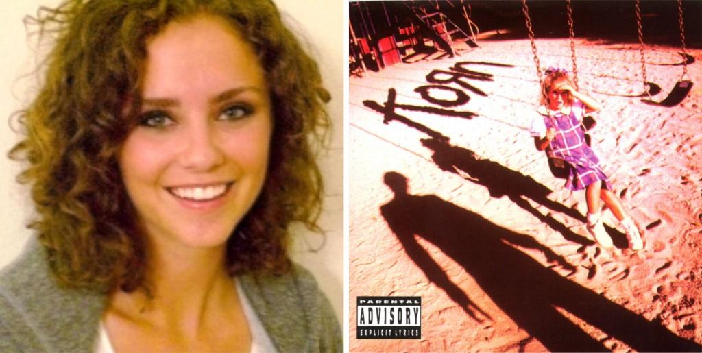 garotinha da capa do álbum de estréia do korn