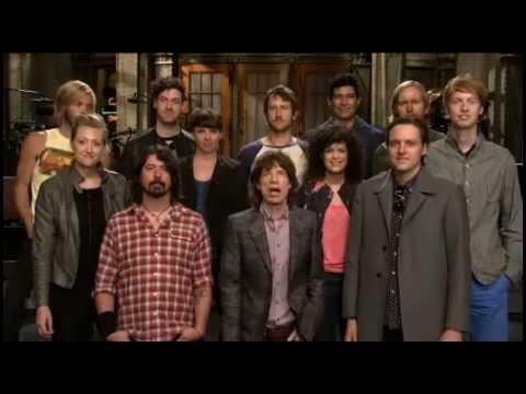 Mick Jagger, Foo Fighters e Arcade Fire