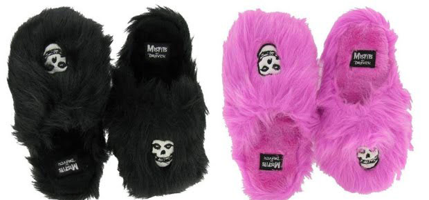 Pantufas do Misfits