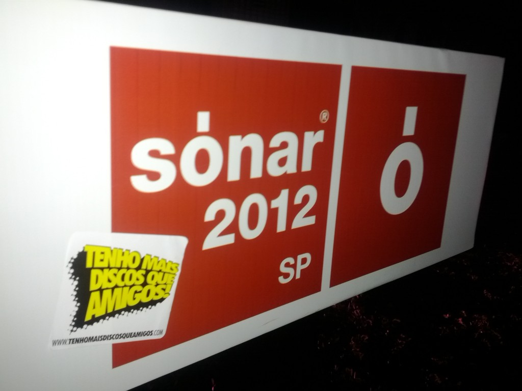 TMDQA! marcando presença no Sónar 2012