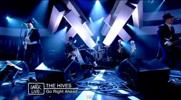 The Hives no Jools Holland