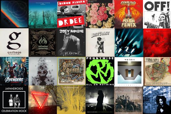95 Discos que você deveria ter ouvido em 2012