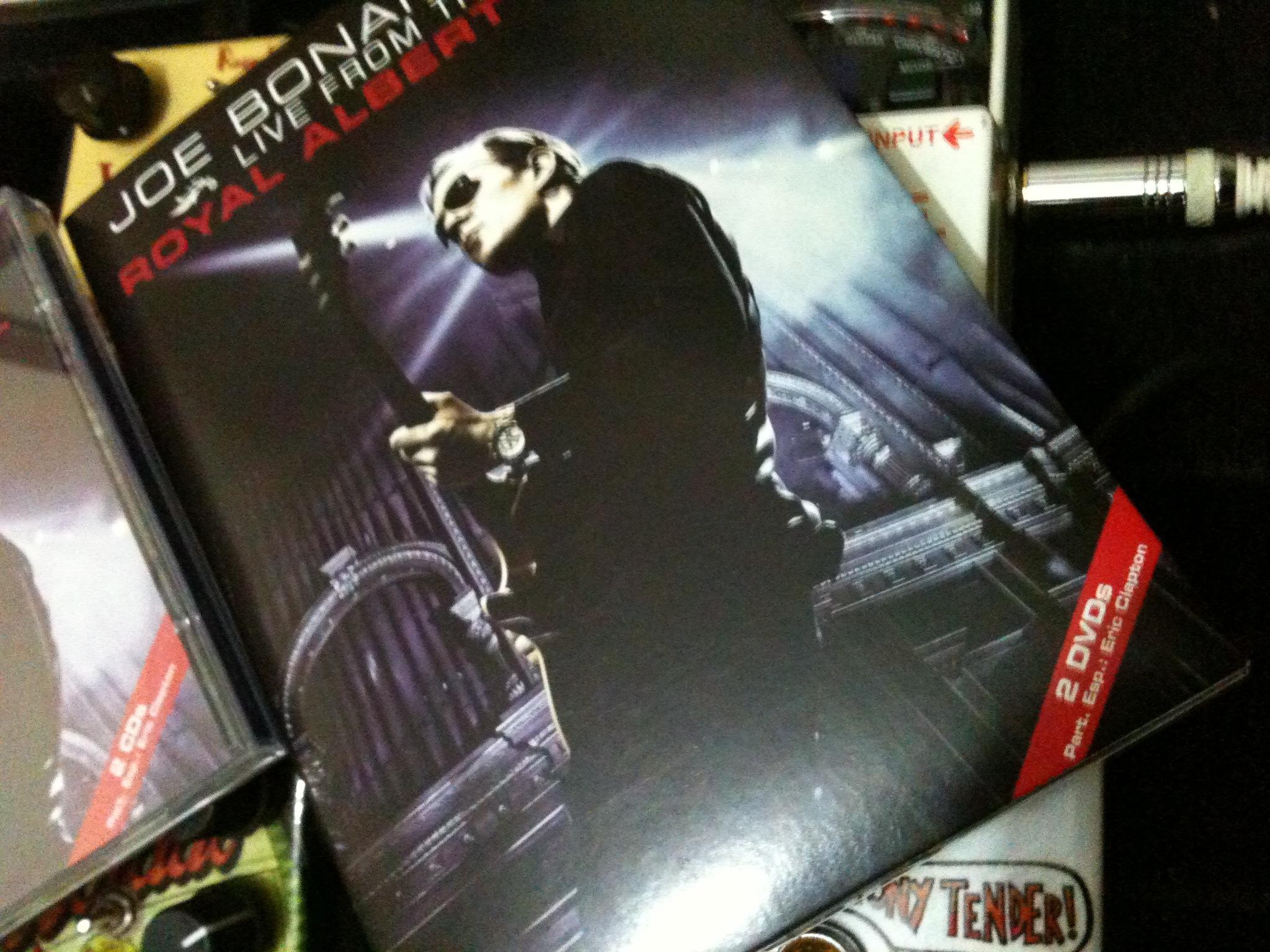 resenha dvd/cd joe bonamassa