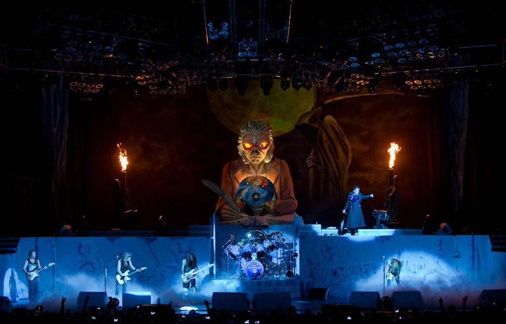 Iron Maiden pode fazer outros shows pela América do Sul em 2013