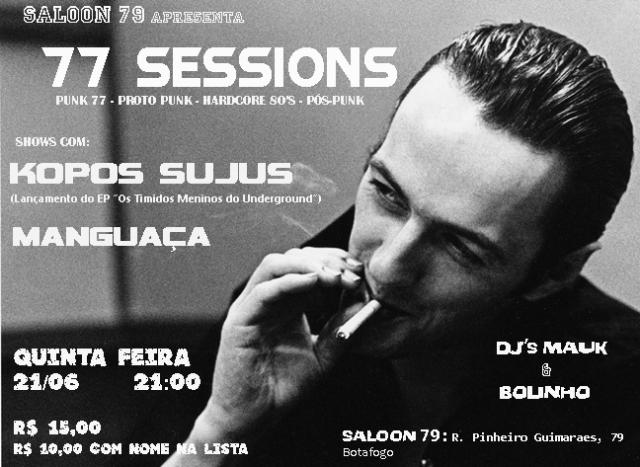 Promoção Sorteio de Vips Para a Festa 77 Sessions (Rio de Janeiro)