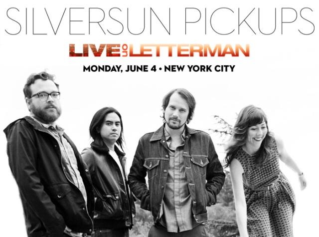 Silversun Pickups Faz Show Exclusivo Para o Live on Letterman