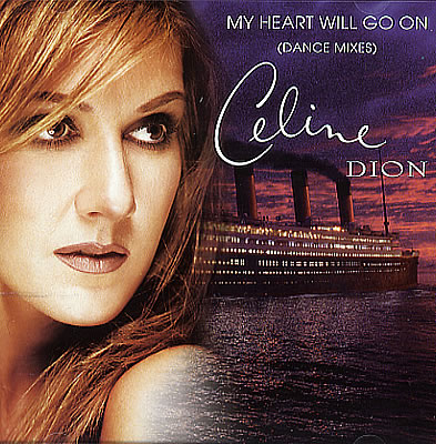 "Celine Dion enjoou de ""My Heart Will Go On"""