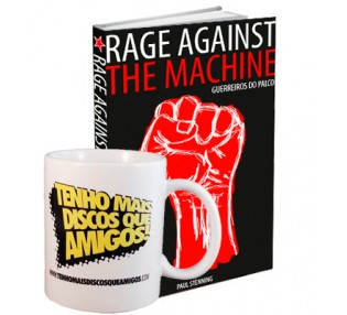 Combo: Rage Against The Machine e Caneca TMDQA!