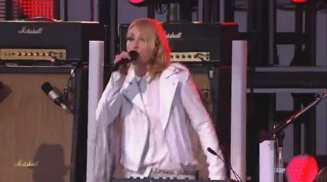 Metric no Jimmy Kimmel