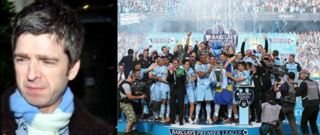 Noel Gallagher e Manchester City