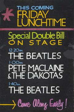 Pôster raro dos Beatles