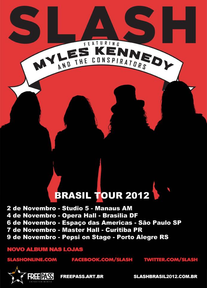 Slash Brasil Tour