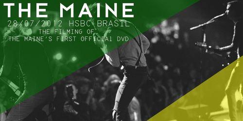 The Maine vai gravar DVD no Brasil