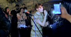 Florence Welch toca Green Day