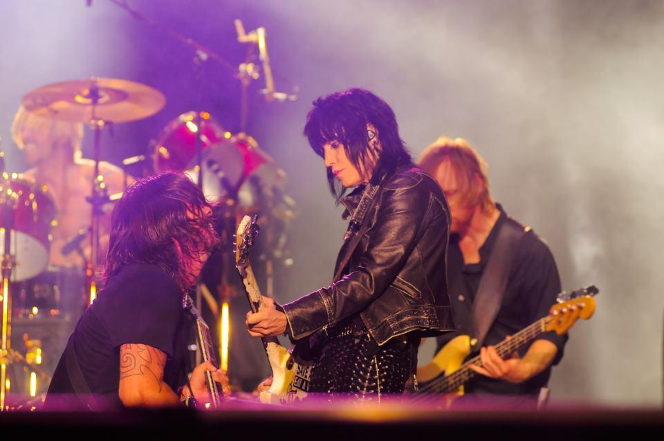 Foo Fighters e Joan Jett