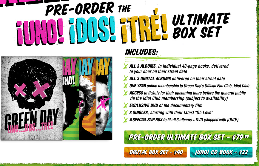 Green Day - Ultimate Box Set