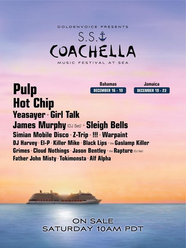 Lineup SS Coachella