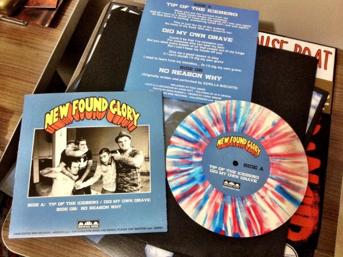 EP do New Found Glory em vinil colorido