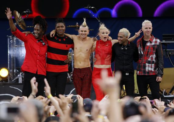 No Doubt Apresenta Novo Hit e Clássicos no Good Morning America