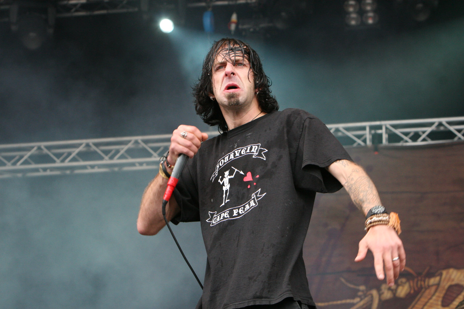 Randy Blythe, vocalista do Lamb Of God