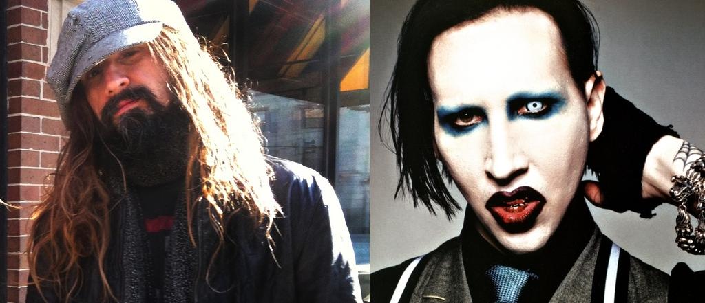 Rob Zombie e Marilyn Manson anunciam turnê conjunta