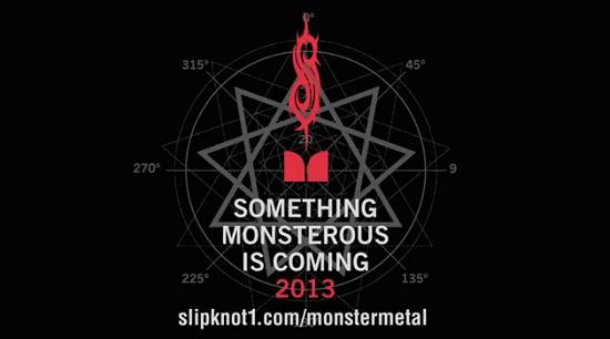Slipknot anuncia novidade monstruosa