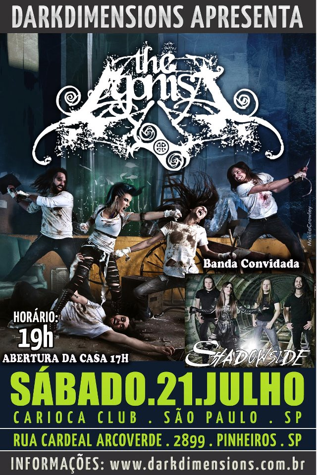 The Agonist Poster SP