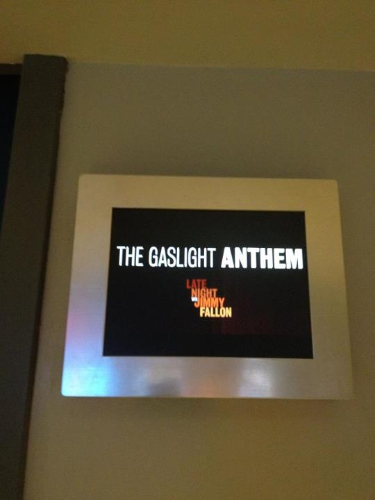 The Gaslight Anthem Faz Performance No Programa de Jimmy Fallon