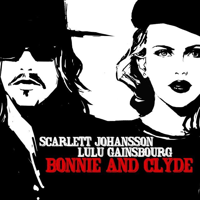 """Ouça a música """"Bonnie & Clyde"""", de Serge Gainsbourg, na voz de Scarlett Johansson"""