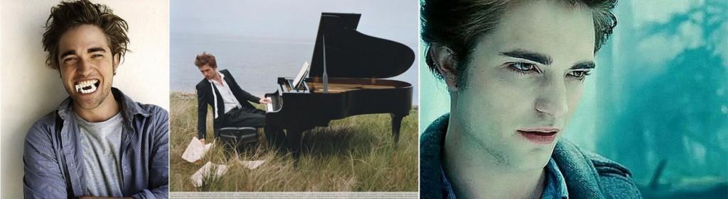 Ator Robert Pattinson de Crepúsculo em carreira como músico