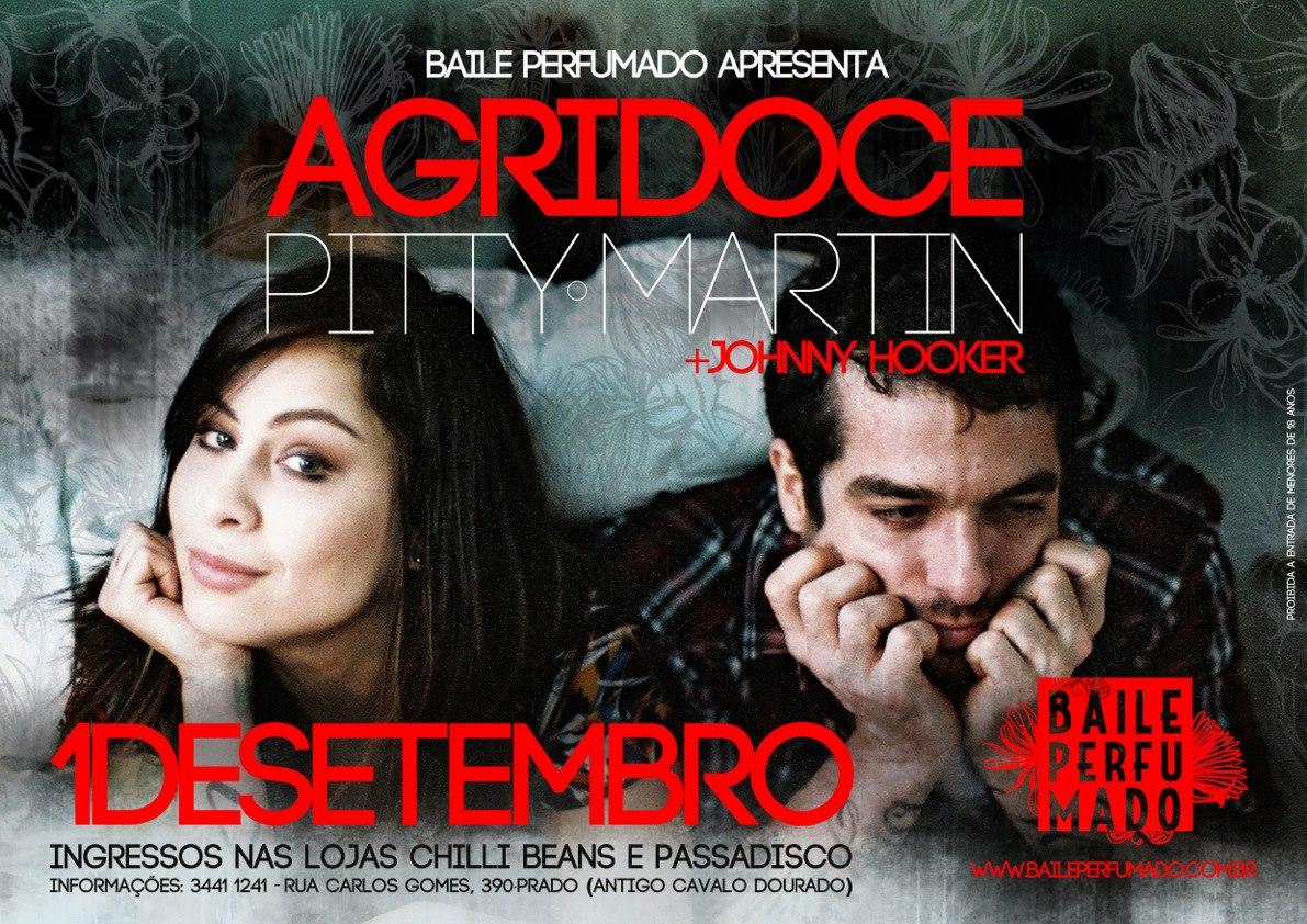 Baile Perfumado apresenta Agridoce em Recife