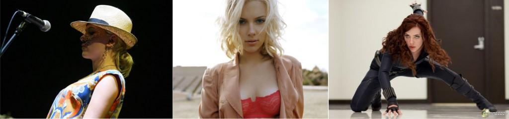 Cantora Scarlett Johansson singer
