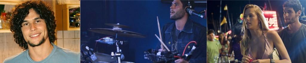 Dudu Azevedo é baterista da banda Red Trip