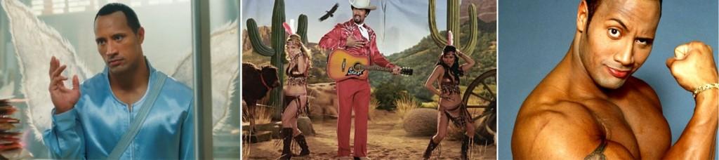 Dwayne Johnson e sua apresentação country no filme Be Cool
