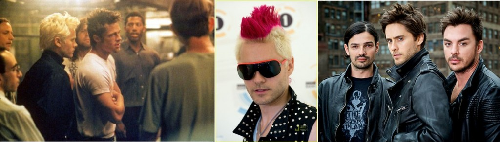 Jared Leto da banda 30 seconds to mars