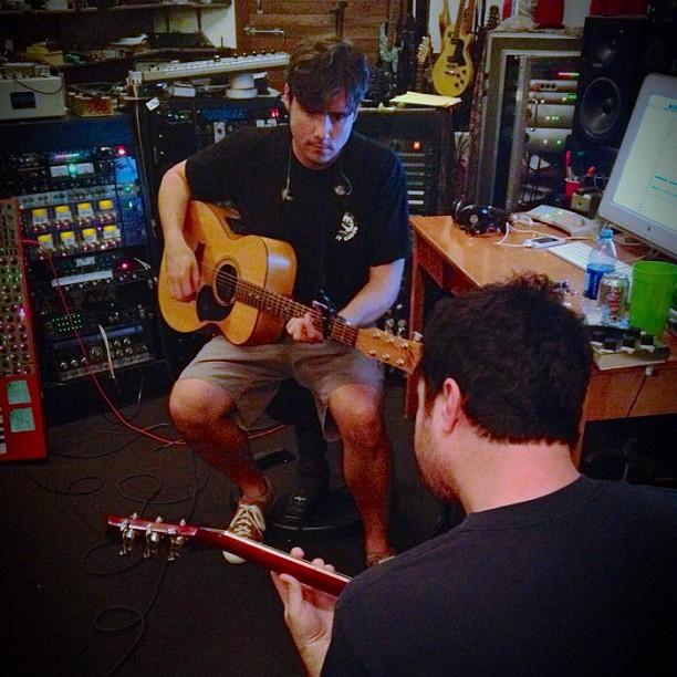 Jimmy Eat World em estúdio