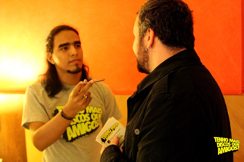 Márcio Colombia e Emmerson Nogueira