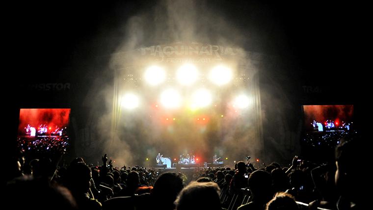 Maquinaria 2012 anunciara bandas dia 10 de agosto