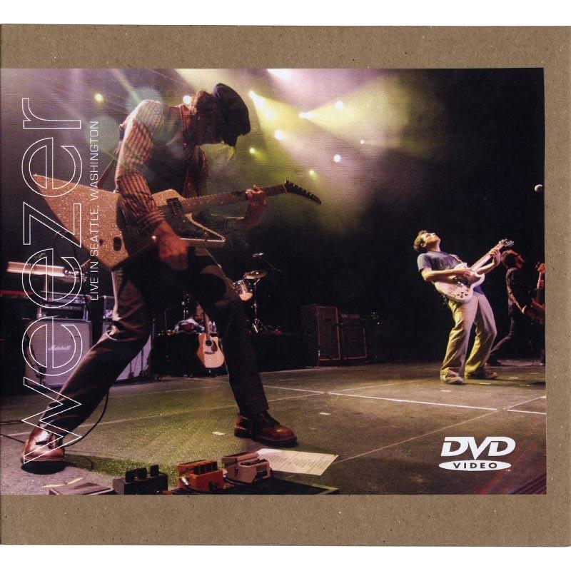 Weezer - Live at Wamu Theatre Seattle, WA 8-19-11 DVD
