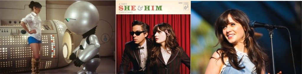 Zooey Deschanel e seu duo She & Him