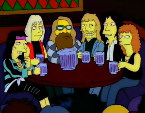 Aerosmith nos Simpsons