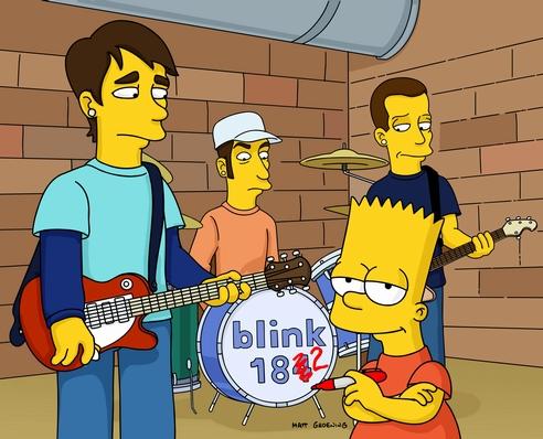 Blink-182 nos Simpsons