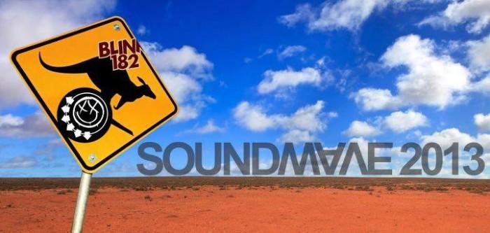 Blink-182 no Soundwave 2013 - Austrália