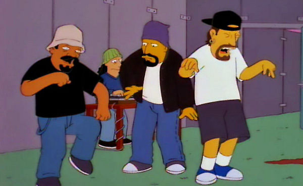 Cypress Hill nos Simpsons