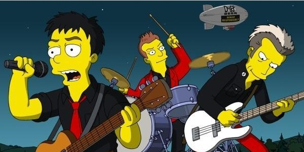 Green Day nos Simpsons