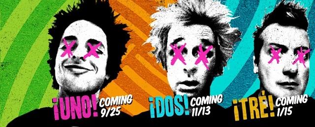 Gravadora não queria que Green Day lançasse trilogia