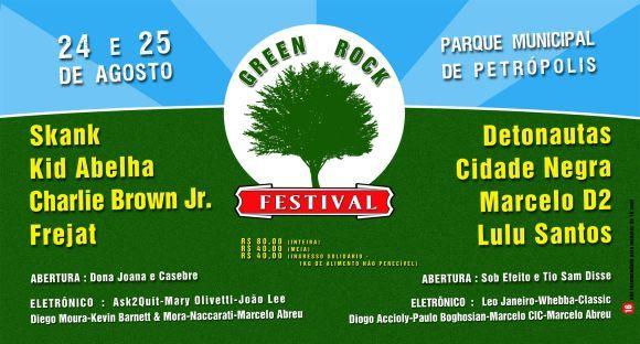 Green Rock Festival 2012 Leva Diversas Atrações Nacionais Para a Região Serrana do Rio de Janeiro